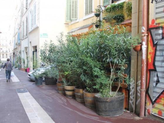 jardin de rue