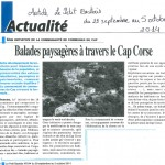 Article Le Petit Bastiais 29-09-20014