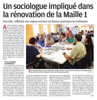 article la Provence PRU Miramas